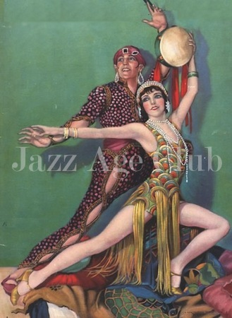 Fowler and Tamara, 1928