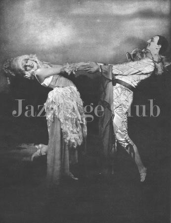 Fowler and Tamara, 1925