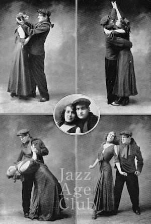 Mistinguett and Max Dearly, Paris, 1908