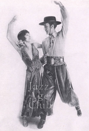 Fowler and Tamara at the Piccadilly Hotel Cabaret, London, 1927