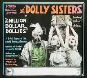 Advertising slide for The Million Dollar Dollies (1918)
