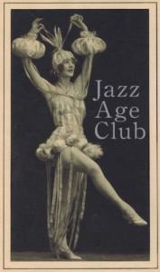 Nina Payne in costume, Paris 1925