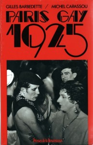 The cover for the book Paris Gay 1925