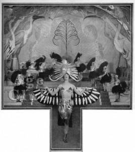 Nina Payne in En Pleine Folie at the Folies Bergere, Paris, 1923