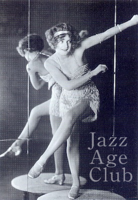 Bee Jackson dancing the Charleston at the Piccadilly Hotel cabaret, London (1925)