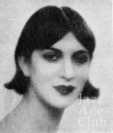 Miss Florence in Paris 1927
