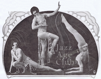 Miss Florence in La Grande Revue du Moulin Rouge (1925, Paris)
