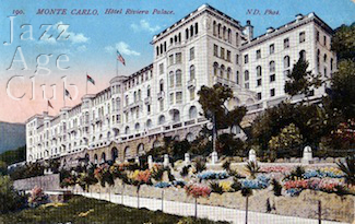 The Riviera Palace Hotel, Beausoleil, Monte Carlo