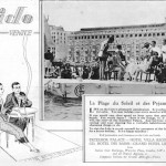 Advert for the attractions of the Lido, Venice featuring the Hotel Excelsior, 1927§Advert for the attractions of the Lido, Venice featuring the Hotel Excelsior, 1927