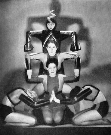 Ballet Bodenwieser in the cabaret show Folies D'Amour, New York (1936) and London (1937)