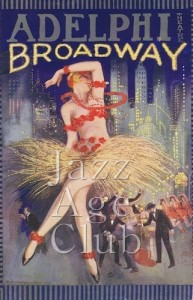 The Programme cover for Broadway at the Adelphi Theatre, London, 1927
