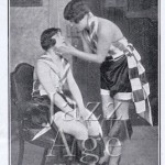 A scene from Broadway at the Adelphi Theatre, London, 1927