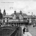 A view of the Kursall Casino, Ostend, 1920s