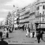The sea front promenade at Ostend, 1920s