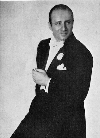Emil Boreo in the Revue Folies Bergere staged at the French Casino in Chicago and New York in 1934 and 1935