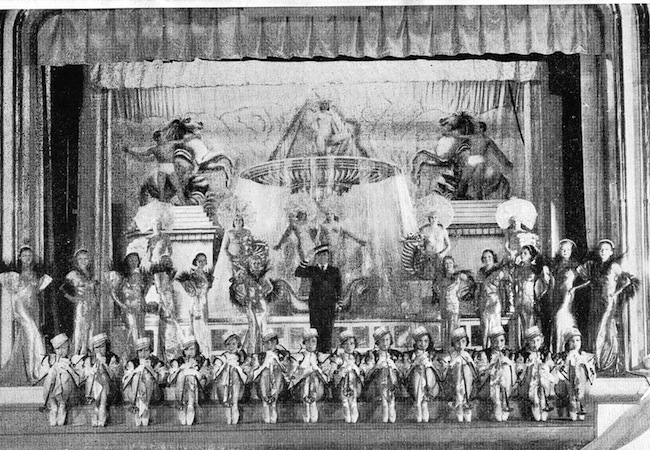The finale in the Revue Folies Bergere staged at the French Casino in Chicago and New York in 1934 and 1935