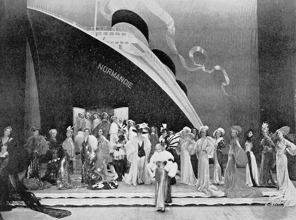 The Normandie scene in the cabaret show Folies Parisienne, staged in Chicago (1935), Miami (1936) and London (1936)