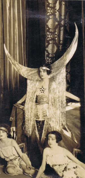 A costume by 'Gene' seen at the Tivoli Theatre, Washington DC 1924