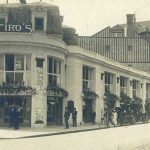The exterior of Ciro's restaurant, Deauville