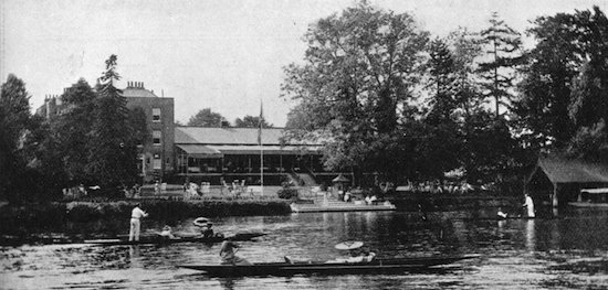 An exterior view of Murray's River Club, Maidenhead