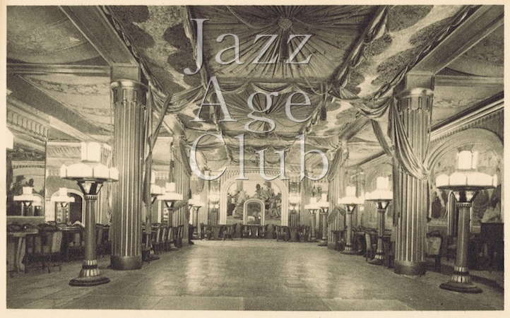 The main ballroom - restaurant for the cabaret and dancing - the Lido, Paris