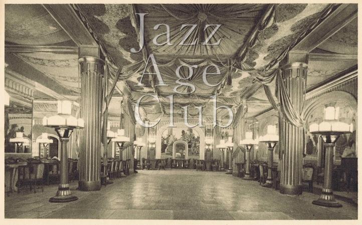 The main ballroom - restaurant for the cabaret and dancing - the Lido, Paris