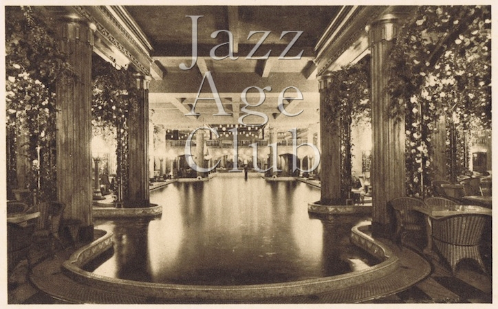The Swimming Pool at the Lido, Paris