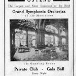 An advert for the Kursaal, Ostend showing the Gambling room (Salle de Jeux)