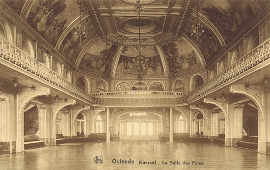 The Salle de Fetes in the Kursaal, Ostend