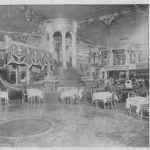 The revolving dance floor at Murray's Roman Gardens, New York