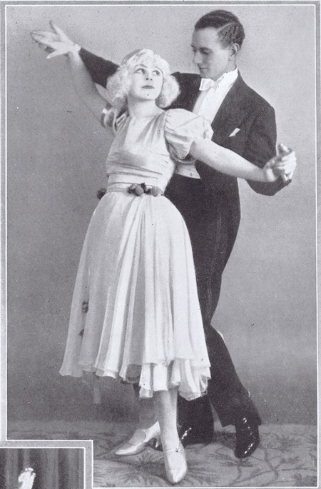 Frank Leveson & partner in 1922