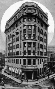 The Second Delmonico's at Beaver Street & South William Street, New York (c.1891)