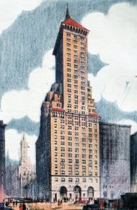 Delmonico's Hotel, New York, 1929