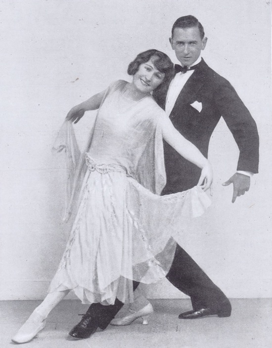 Frank Leveson & partner mid 1920s