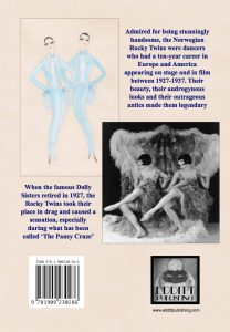 The back cover of The Rocky Twins biography