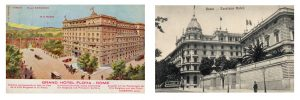 Left : Grand Hotel Flora and Right: Excelsior Hotel, Rome