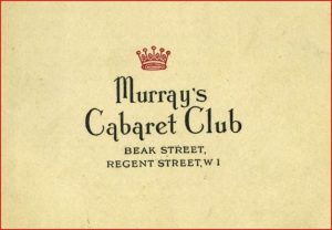 Logo from Murray's Cabaret Club, London