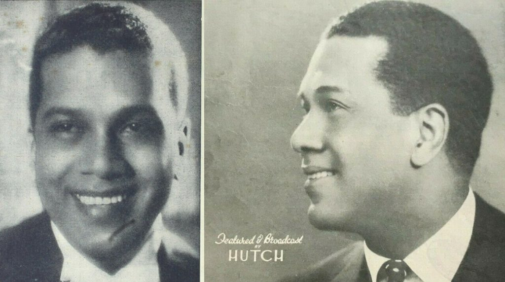 Two portraits of Leslie Hutchinson (Hutch)