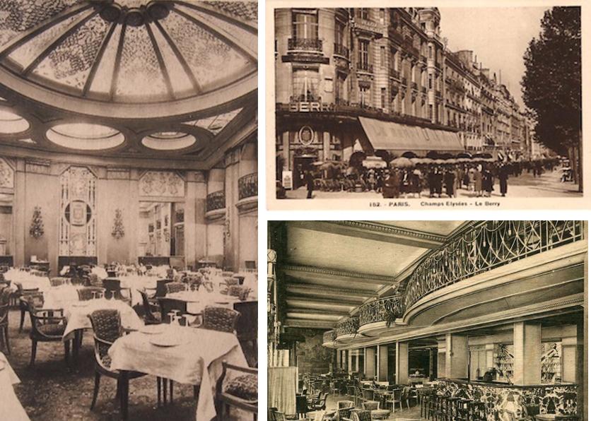 Le Berry bar and restaurant, Paris