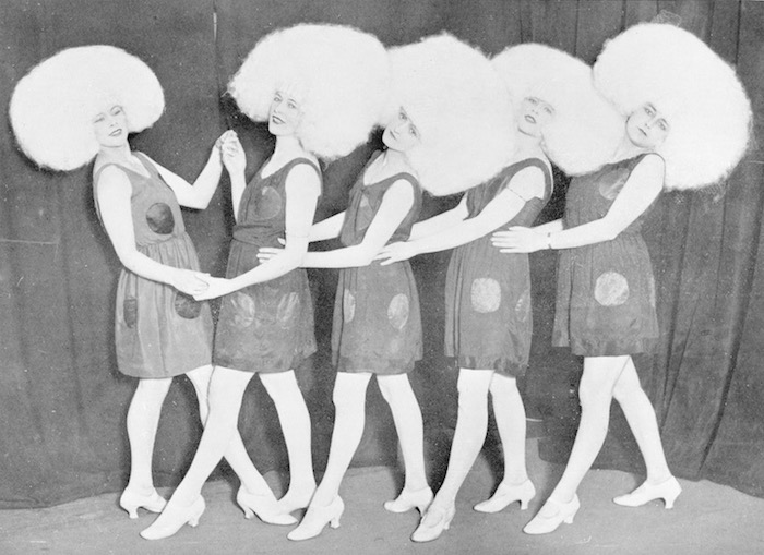 The Gaby Doll number in the Cabaret Follies show at the Queen's Hall Roof, 1923 designed by Dolly Tree