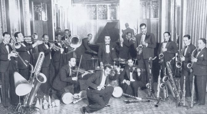 Noble Sissle and his Orchestra part of the Ambassadeurs Show 1929