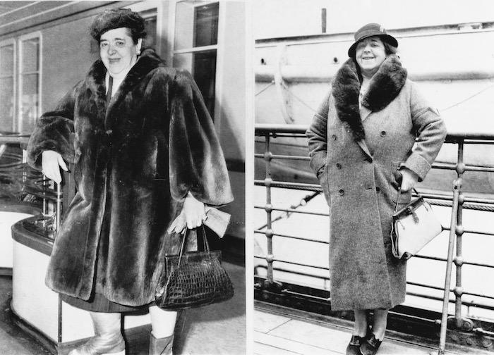 Two portraits of Elsa Maxwell, 1920s