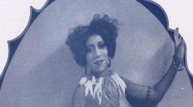 Marie Woods in La Revue Negre, Paris, 1925