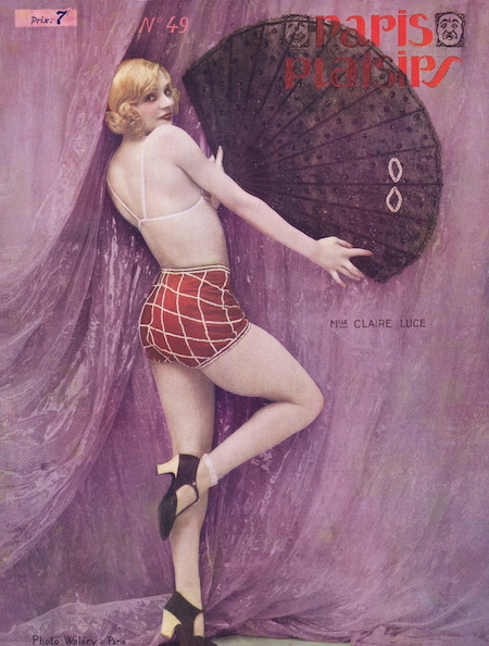 A portrait of the American dancer Claire Luce, 1920s