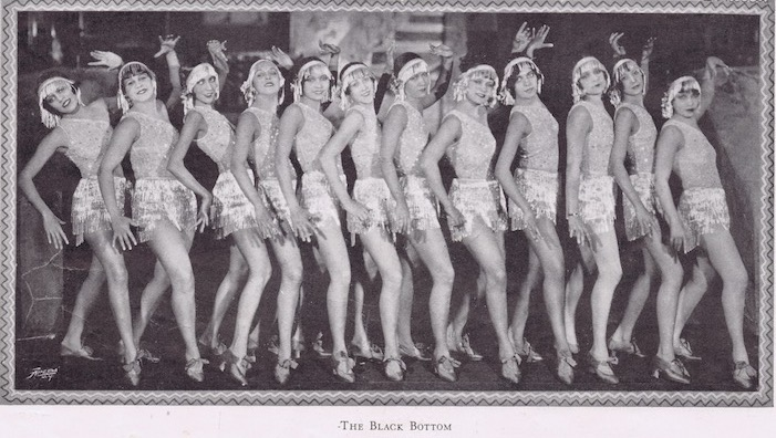 The Black Bottom scene from the Club Alabam, New York cabaret show in 1926