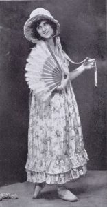 The dancer Edna Maud appearing at the Italian Roof Garden, Criterion Restaurant, 1923