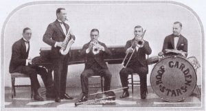 The Roof Garden Stars jazz band appearing at the Italian Roof Garden, Criterion Restaurant, 1920s