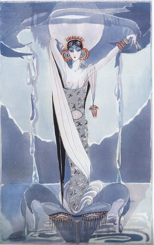 Artwork entitled 'Fantasy in Silver' by Gladys Spencer Curling, 1927