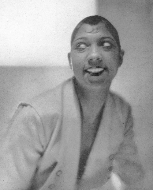 A portrait of the afro-American star Josephine Baker, 1920s