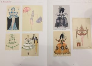 Sample pages from the book Not Only Erte: Costume Design for the Paris Music Hall 1918-1940 by Angelo Luerti